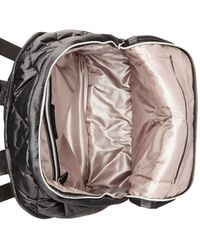 Calvin Klein | Metallic Cire Nylon Quilted Backpack | Lyst