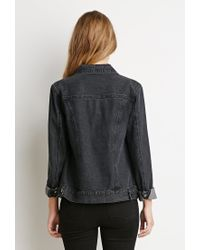 Forever 21 | Gray Classic Denim Jacket | Lyst