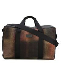 Paul Smith - Black Printed Holdall for Men - Lyst