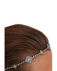 Jennifer Behr | Metallic Orion Crystal Circlet Headband | Lyst