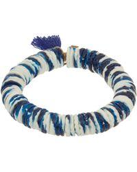 Isabel Marant | Blue Fiji Beaded Tassel Bracelet | Lyst