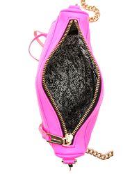 Rebecca Minkoff - Pink Neon Mini Mac Bag - Lyst