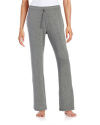 Lord & Taylor | Gray Knit Lounge Pants | Lyst