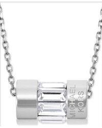 Michael Kors - Metallic Mkj4950040 Ladies Necklace - Lyst