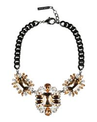 Angelo Marani - Black Necklace - Lyst