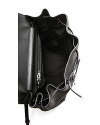 Alexander Wang - Black Prsima Skeletal Backpack - Lyst