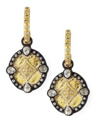Armenta | Multicolor Shield Drop Earrings | Lyst