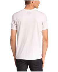 BOSS Orange - White T-shirt 'timblin 2' In Cotton for Men - Lyst