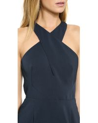 Keepsake - Blue Moonless Dress - Navy - Lyst