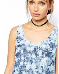 ASOS - Black Boy Girl Choker Necklace 2 Pack - Lyst