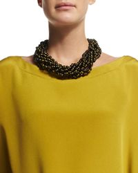 Eskandar | Green Nine-strand Short Necklace | Lyst