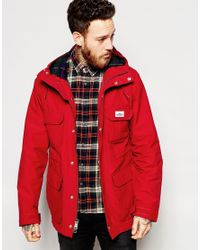 Penfield - Red Shower Proof Kasson Parka for Men - Lyst