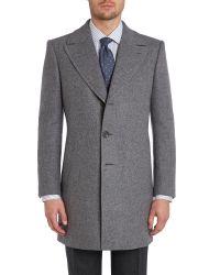 Chester Barrie - Gray Change Coat for Men - Lyst