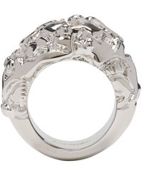 Acne Studios | Metallic Silver Marioline Ring | Lyst
