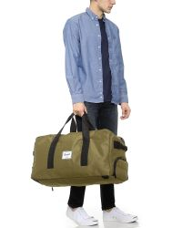 Herschel Supply Co. | Green Outfitter Duffel for Men | Lyst