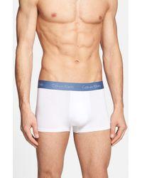 Calvin Klein - Blue U5554 Swim Shorts for Men - Lyst