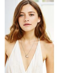 Urban Outfitters | Metallic Corky Charm Necklace | Lyst