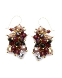 Nakamol | Multicolor Freesia Earrings-amethyst | Lyst