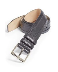 Mezlan | Black Calfskin Belt for Men | Lyst