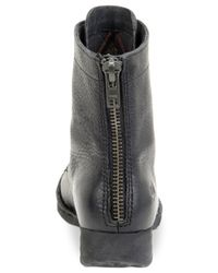 Born | Black Kelisa Lace-up Boots | Lyst