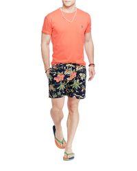 Polo Ralph Lauren   Orange Classic-Fit Pocket Tee for Men   Lyst