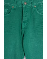 7 For All Mankind | Green Rigid Drill- Chad Relxd Chino for Men | Lyst