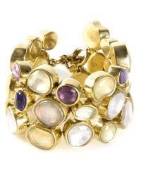 Vaubel | Metallic Stone Pebble Bracelet | Lyst