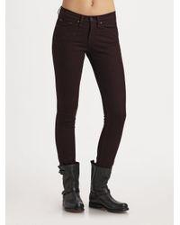 Rag & Bone | Brown The Skinny Jeans | Lyst