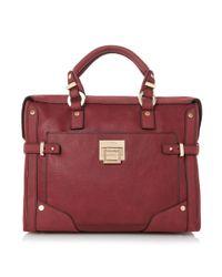 Dune | Purple Dellta Hardware Detailed Top Handle Bag | Lyst