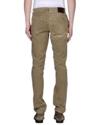 GAUDI - Natural Casual Pants for Men - Lyst