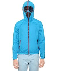 Ai Riders On The Storm - Blue Total Zip Up Water Repellent Wind Breake for Men - Lyst