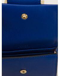 Chloé - Blue Bow Detail Purse - Lyst