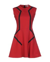 Moschino | Red Short Dress | Lyst