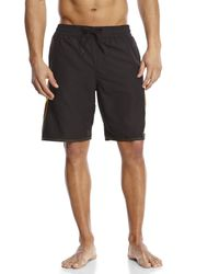 Adidas - Black Core Sport Volley Board Shorts for Men - Lyst