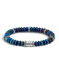 John Hardy | Multicolor Men's Batu Bedeg Beaded Bracelet for Men | Lyst