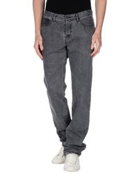 Givenchy - Gray Denim Trousers for Men - Lyst