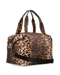 Steve Madden - Multicolor Diamond Quilted Dome Duffel - Lyst