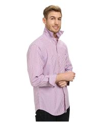 Vineyard Vines | Pink Tucker Shirt-wickham Check for Men | Lyst