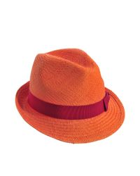 Inverni - Orange Panama Johnny - Lyst