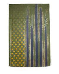 Roda | Green Usa Flag Scarf for Men | Lyst