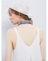 Free People | White We The Free Kitten Tank | Lyst