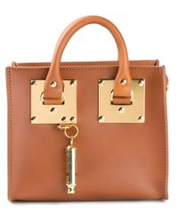 Sophie Hulme - Brown Small Box Satchel - Lyst