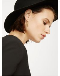 BaubleBar - Metallic Triple Diamond Ear Jackets - Lyst