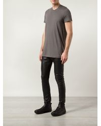 Julius | Gray Long T-shirt for Men | Lyst