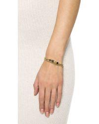 Eddie Borgo - Black Double Wrap Collage Bracelet - Onyx Jet/freshwater Pearl - Lyst