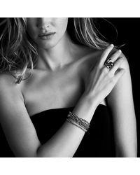 David Yurman - Metallic Six-Row Chain Bracelet - Lyst