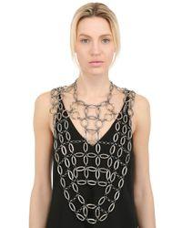 Lucia Odescalchi | Metallic Hag Chain Necklace | Lyst