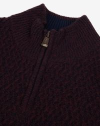 Ted Baker | Red Deluxe Cashmere-blend Sweater for Men | Lyst