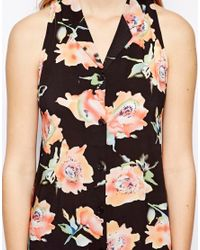 MINKPINK - Multicolor Printed Shirt with Open Back - Lyst