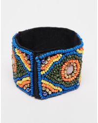Raga - Beaded Bracelet - Purple - Lyst